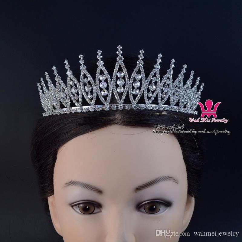 웨딩 신부의 티아라 머리띠 미인 미식가 크라운 헤어 쥬얼리 액세서리 매우 Beautifull 좋은 품질의 머리카락 02287
