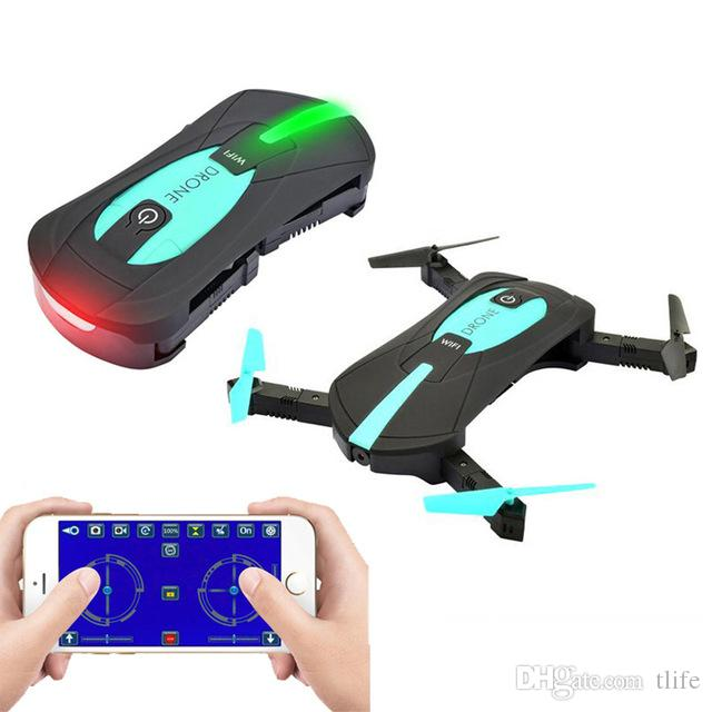 Portable Drones Foldable Mini Selfie Drone Pocket Folding Quadcopter  Altitude Hold Headless WIFI FPV Camera RC Helicopter VS H31