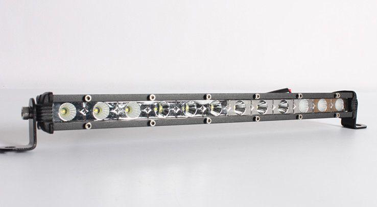 Livraison gratuite! Mini lumière bar 36w 13inch cree conduit spot de voiture / inondation / combo ip67 pour offroad