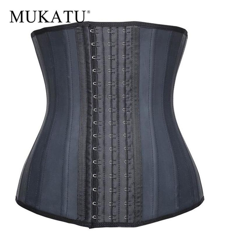 0fd72da596 2019 Wholesale MUKATU Latex Waist Trainer Slimming Latex Belt Cincher Corset  Slimming Modeling Strap Hot Shapers Body Shaper Slimming Latex From Rykeri