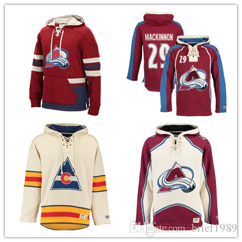 2019 Customized Colorado Avalanche Hockey Jerseys Uniforms 9 Duchene 29  MacKinnon 92 Landeskog Men Women Kids Hoodie Hooded Sweatshirt Jackets From  ... 161d9a3df