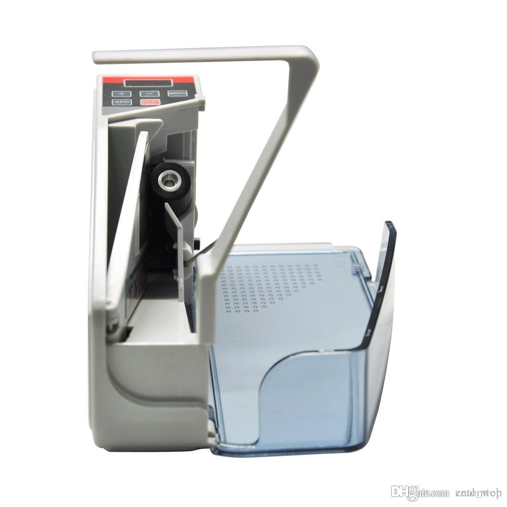 Compteur à portée de main de comptoir d'argent liquide mini original V40 pour la note de billet Bill EU EU prise comptant Compteur Machine