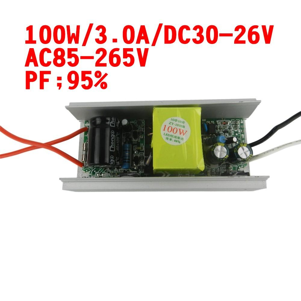 2019 100w Dc 30v 36v 3000ma Led Driver For 100w Led Chip