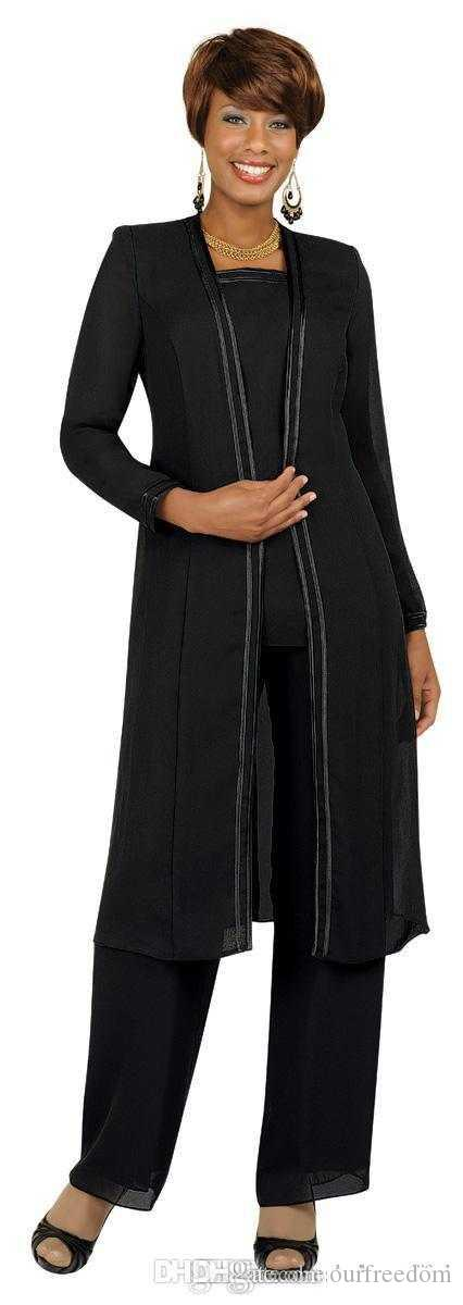 Cheap Plus Size Mother Of the Bride Groom Dresses With Pants Suits Long Sleeves Jacket Fashion Summer Custom Made Evening Mother Wear