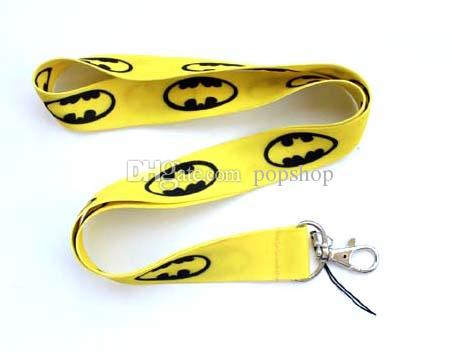 Yellow Batman Classic Neck Lanyard Multicolor Phone Accessories Cell Phone Camera Neck Straps Lanyard Gifts
