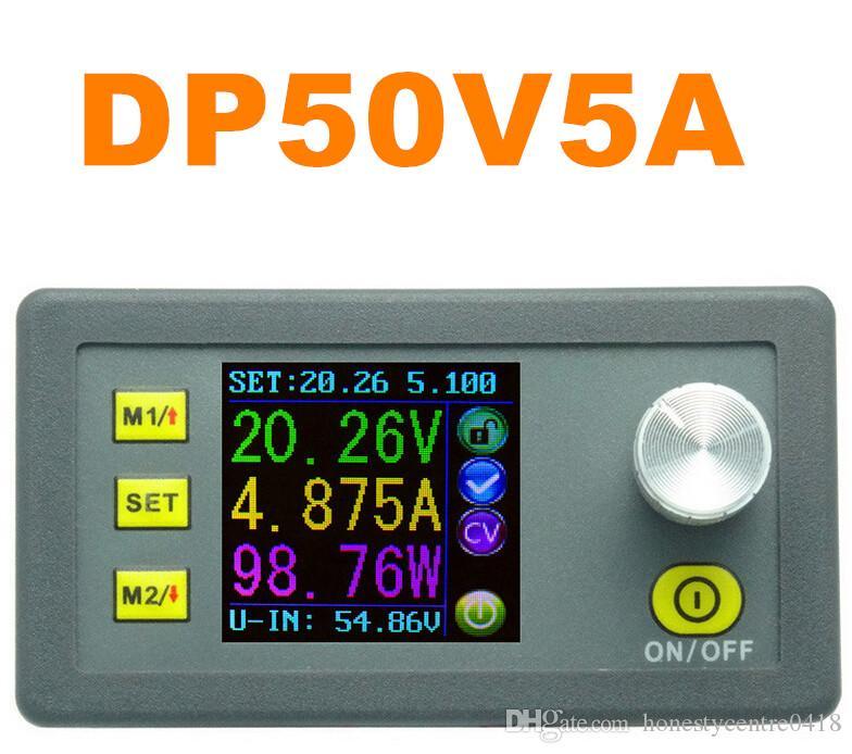 DP50V5A Regolatore di tensione regolabile Voltmetro LCD a colori con modulo di alimentazione step-down a tensione costante