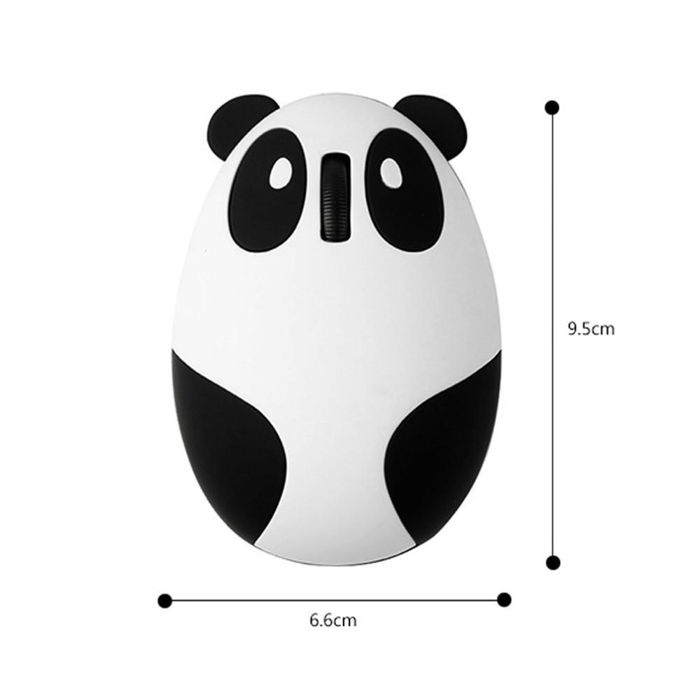 VMW-91 2.4GHz Inalámbrico 2.4G Ratón óptico con cable USB Panda Computer Mouse para Win / Mac / Linux / Andriod / IOS Macbook Windows Intel AMD Mejor regalo