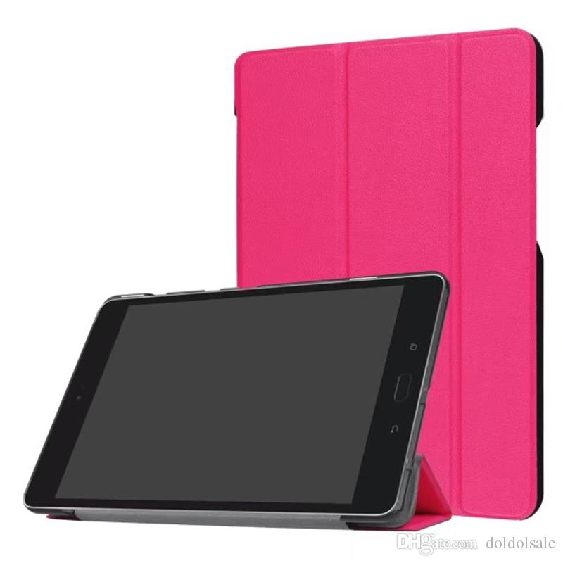 "DOLMOBILE Flip Cover Case with Stand for Asus Zenpad Z8S ZT582 ZT582KL 8"" 8.0 2017 Tablet + Stylus Pen"