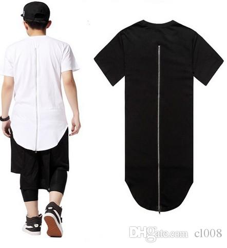 Men latest hip hop short sleeves t shirts knit length for Very cheap t shirts online