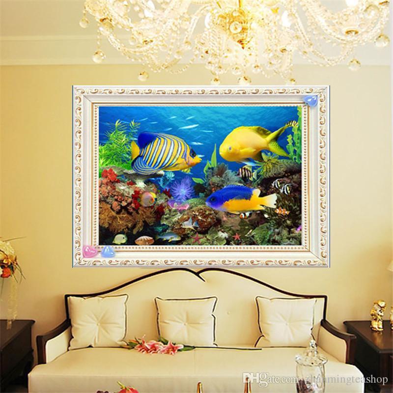 5D DIY Diamond Painting Embroidery Painting DIY Sea World Stitch ...