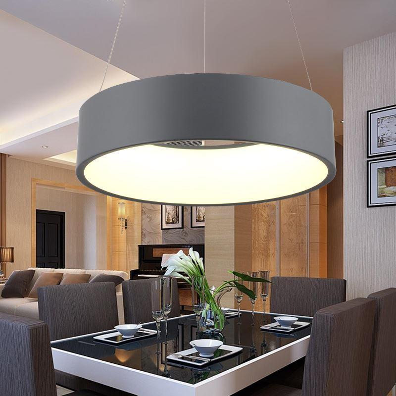 Moderno colgante de iluminación real Lampe Lamparas para la suspensión de  la cocina Luminaria Moderne Lámpara Colgante Lámparas Comedor Luces