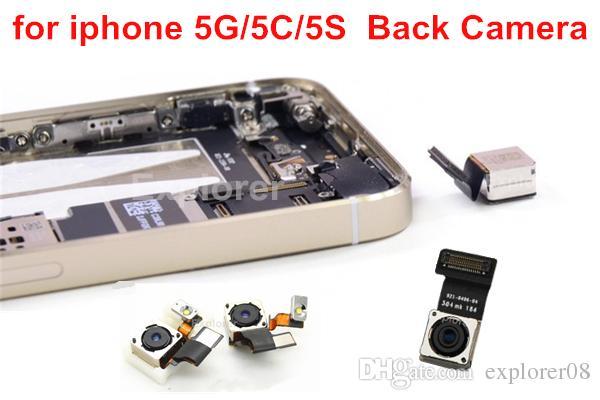 الأصلي للحصول على اي فون 5S 5G 6G 5C 6 زائد كاميرا خلفية 8MP الرئيسية الخلفية وحدة 8.0 ميجابيكسل مع كابل فليكس