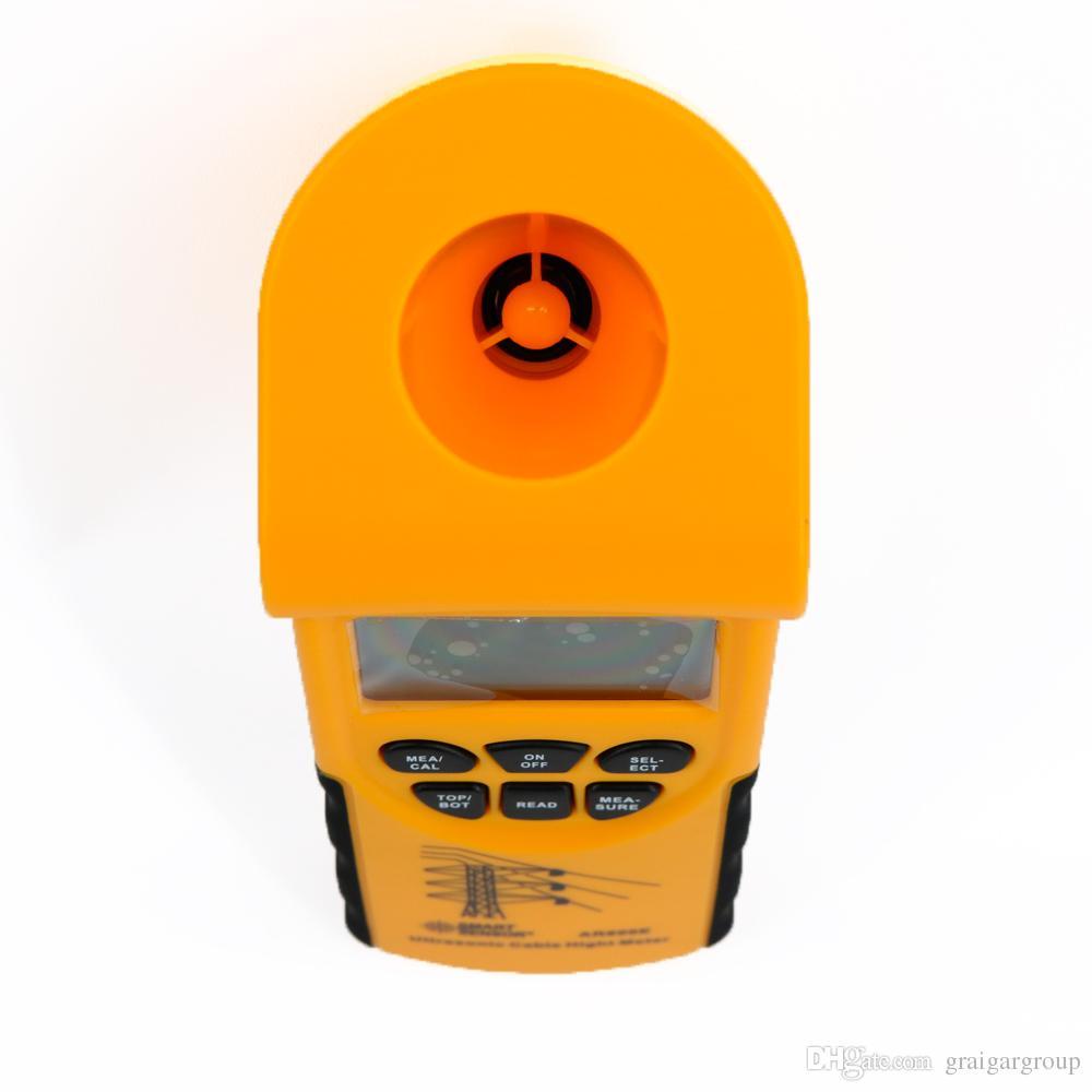 AR600E Ultrasonic Cable Height Meter Tester Smart Sensor Measuring range: Cable ~23m