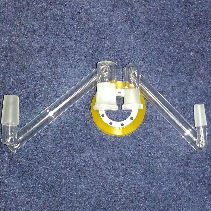 10 Stili Borosilicate Dropdown Adattatore Maschio Femmina 14mm 18mm A 14mm 18mm Femmina Vetro Drop Down adattatori di vetro bong made in china