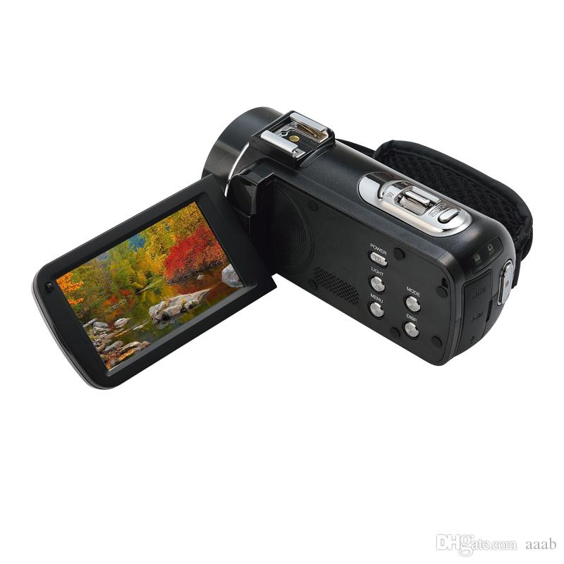 "New Professional Video Camera HDV-Z20 3.0"" Touch Display Full HD WIFI Cam Digital Video Camcorder Face&Smile Detection"