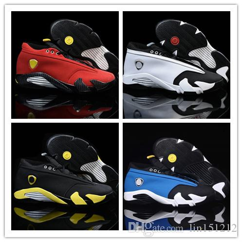 cheap for discount b573b 403b9 Compre 2018 Nuevos 14 Low Black Toe Basketball Shoes 14s Para Hombre Nuevo  XIV Sneakers Air Trainer Shoes US 8 13 A  55.96 Del Lin151212   DHgate.Com