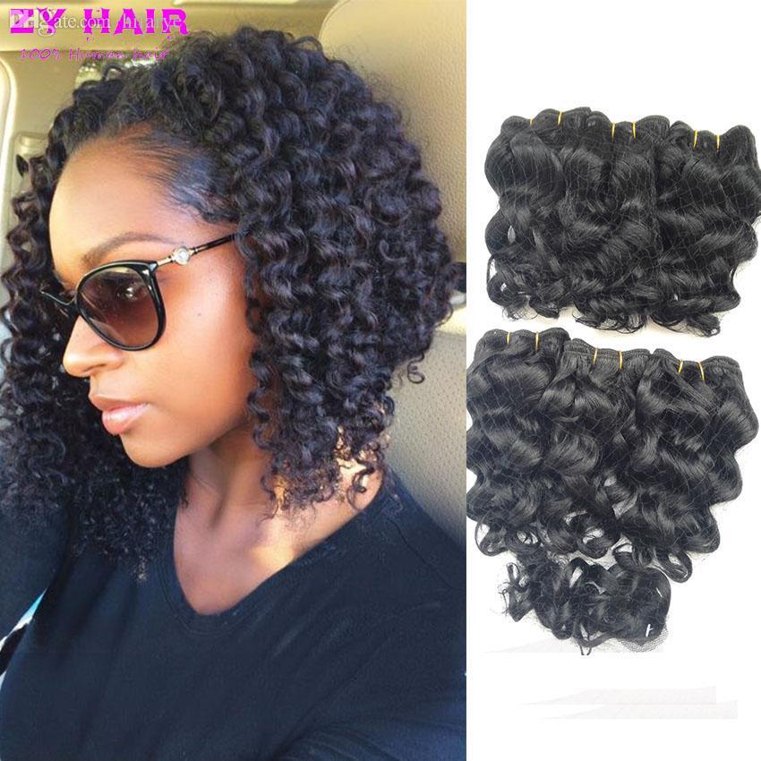 Deep Wave Weave Short Hairstyles Hair