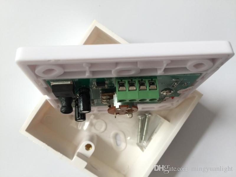 0-10V LED Dimmer IR Fernbedienung 12 Tasten Knopf Betriebsschalter Für dimmbare LED Lichter Dimmer