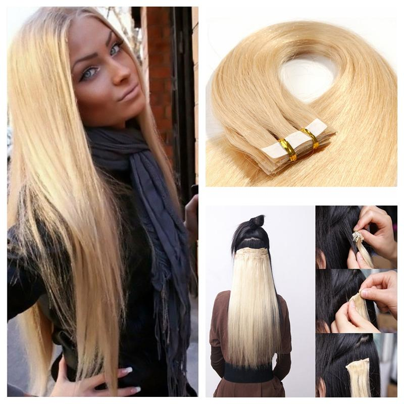 Glue In Human Hair Extensions Choice Image Hair Extensions For