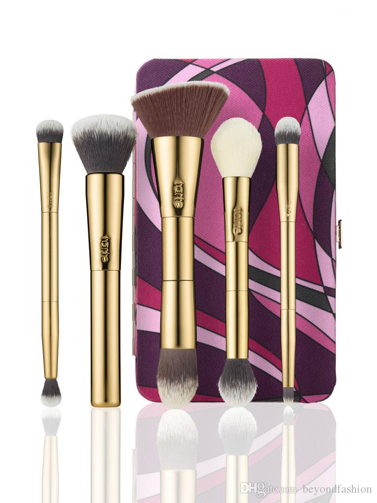 tarte makeup brushes. brand tarte makeup brushes double ended limited edition tarteist toolbox brush blending powder foundation eyes conceal contour make up nail art m