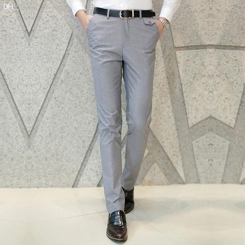 c05fe82901 Pantaloni casual da uomo all-ingrosso alla moda Pantaloni eleganti da  lavoro Pantaloni sportivi 426