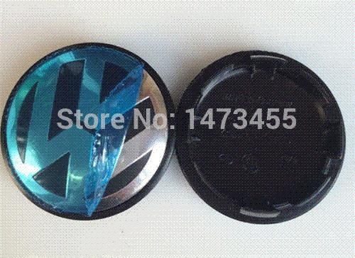 4pcs 65mm VW wheel center cap hub cap cover For Volkswagen Logo badge  emblems EOS Golf Jetta Mk5 Passat B6 VW 3B7