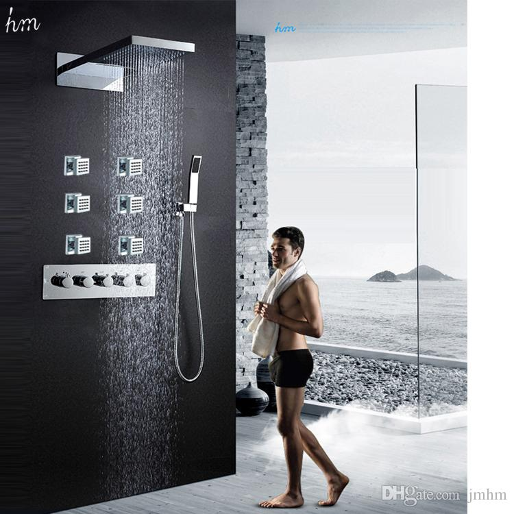2018 Hot Sale Embed Bathroom Accessories Rain Spa Shower Head Set ...