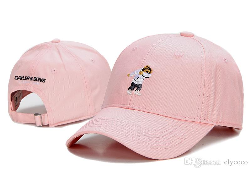 cb5540ac9f6 C0023 Snapbacks Baseball Caps Cayler Sons Dabbin Crew Snap Backs Curved  Embroidery Sports Hiphop Sun Hats Gifts Camo Black Pink Khaki Flat Caps  Trucker Caps ...
