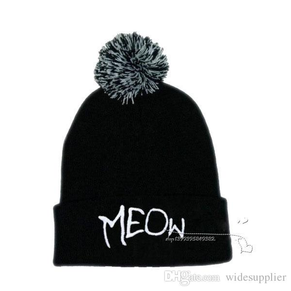 wool warm beanies hats dribble fashion trend Korean version of autumn and winter hip hop hat knitted hat men women fall winter hats