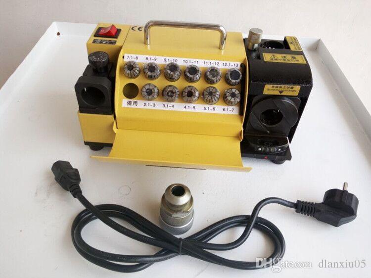 Hot Selling Small Twist Drill Bit Shapening Machine Drill Bit Grinder 3-13mm CNC Router Bit Sharpener