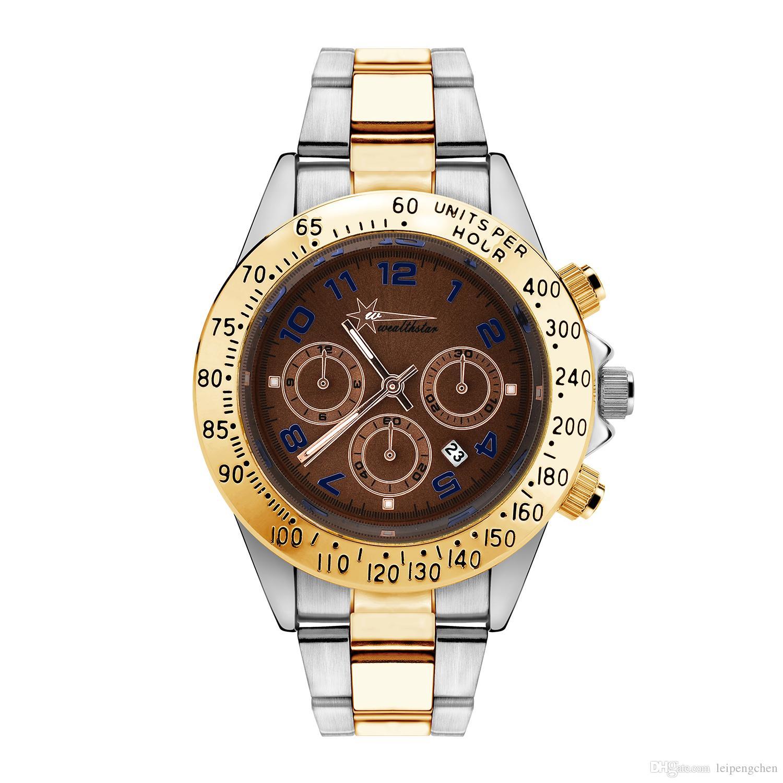 6a644432260 Mens Silver Dial Imitation Ceramics Bezel Steel Silver Watch Men ...