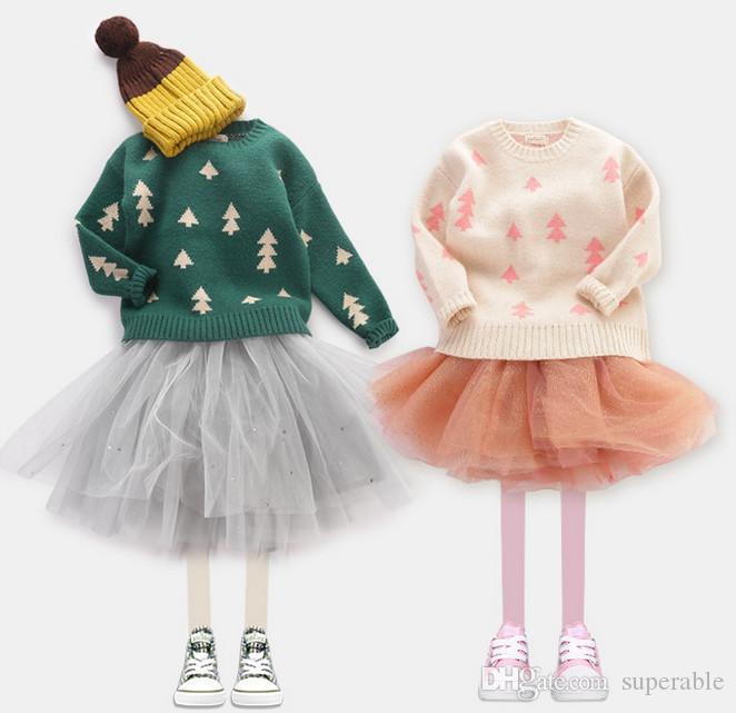 Fashion Children Sweater Kids Clothes Fall Winter Tops Sweaters