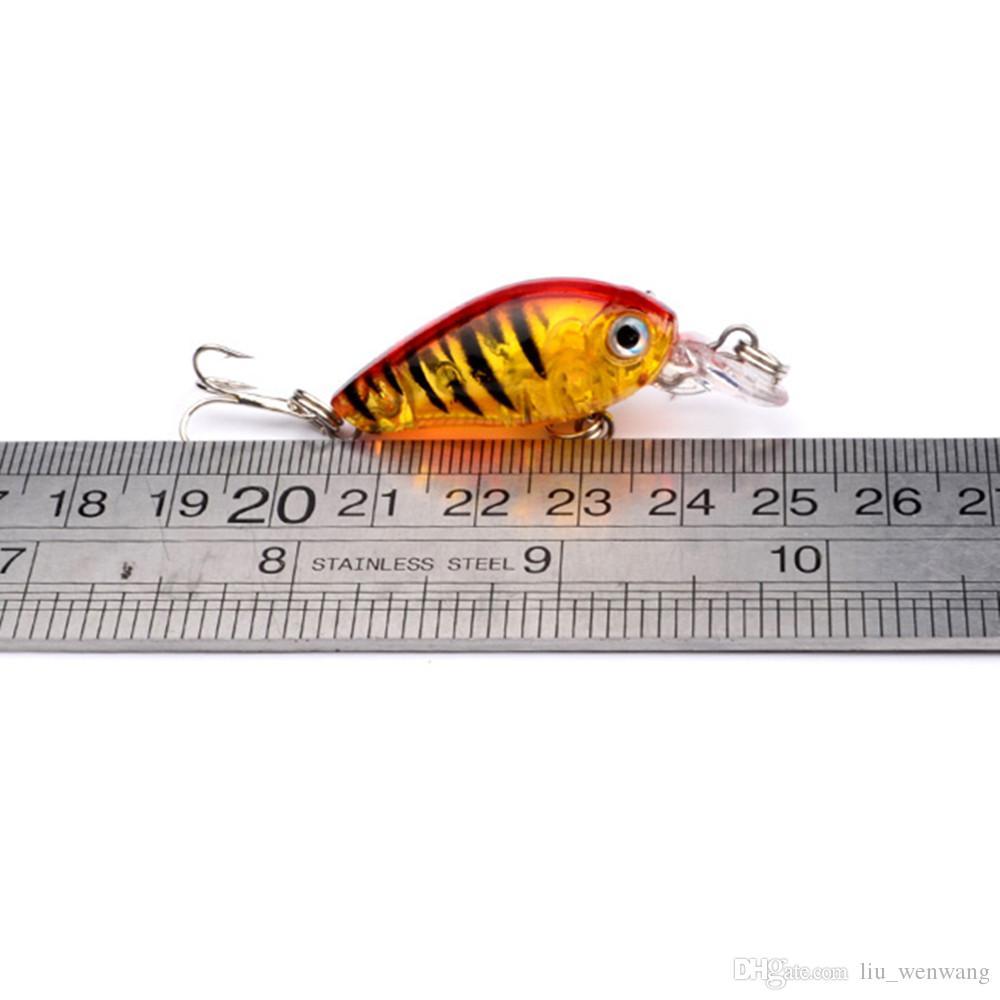 9 цвет 45 мм 4G кривошипл рыболовные крючки 10 # крючок 3d глаза жесткие приманки приманки PESCA рыболовные снасти аксессуары LW-11
