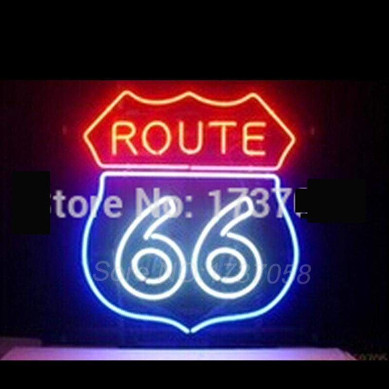 2018 wholesale neon sign route 66 garage handicrafted real glass 2018 wholesale neon sign route 66 garage handicrafted real glass tube custom neon signs beer bar lights neon lamp advertising light vd 19x15 from johnon aloadofball Image collections