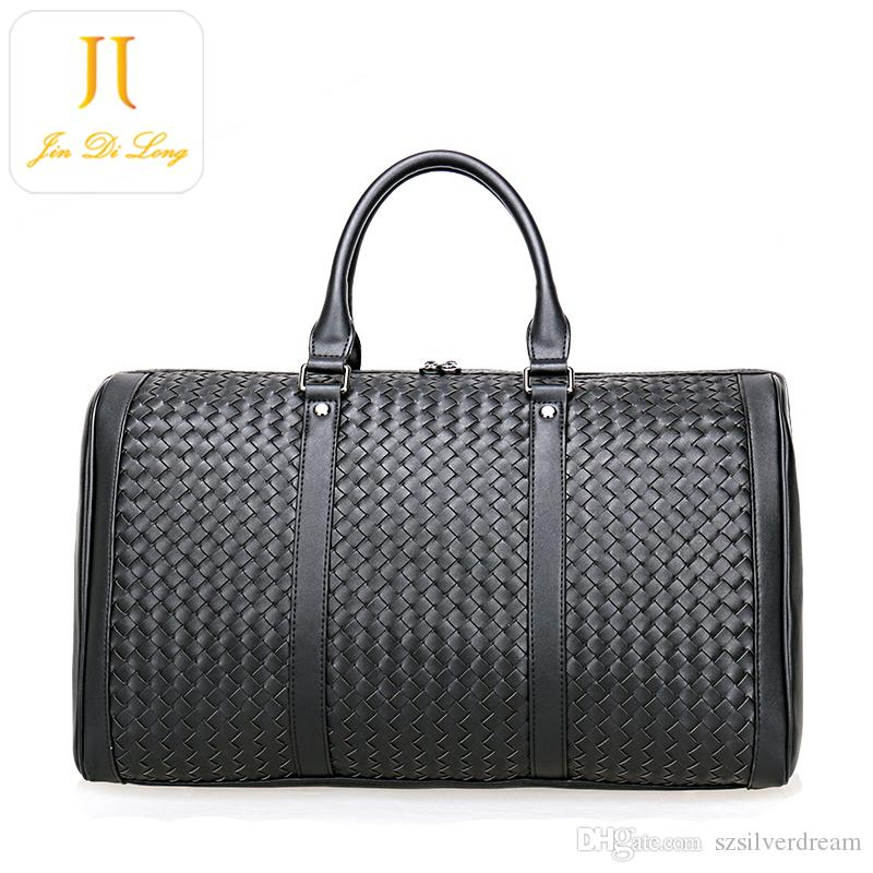39571c95f36f Деловая поездка багаж сумки большой емкости кожа мужчины открытый путешествия  сумки ручной работы мода креста тела мужчины сумка
