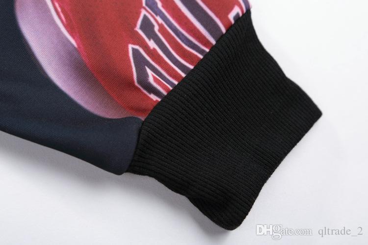 패션 3D 인쇄 - 긴팔 스웨터 남성 캐주얼 스웻 셔츠 스포츠 hoody 인쇄 남성 - 긴팔 스웨터