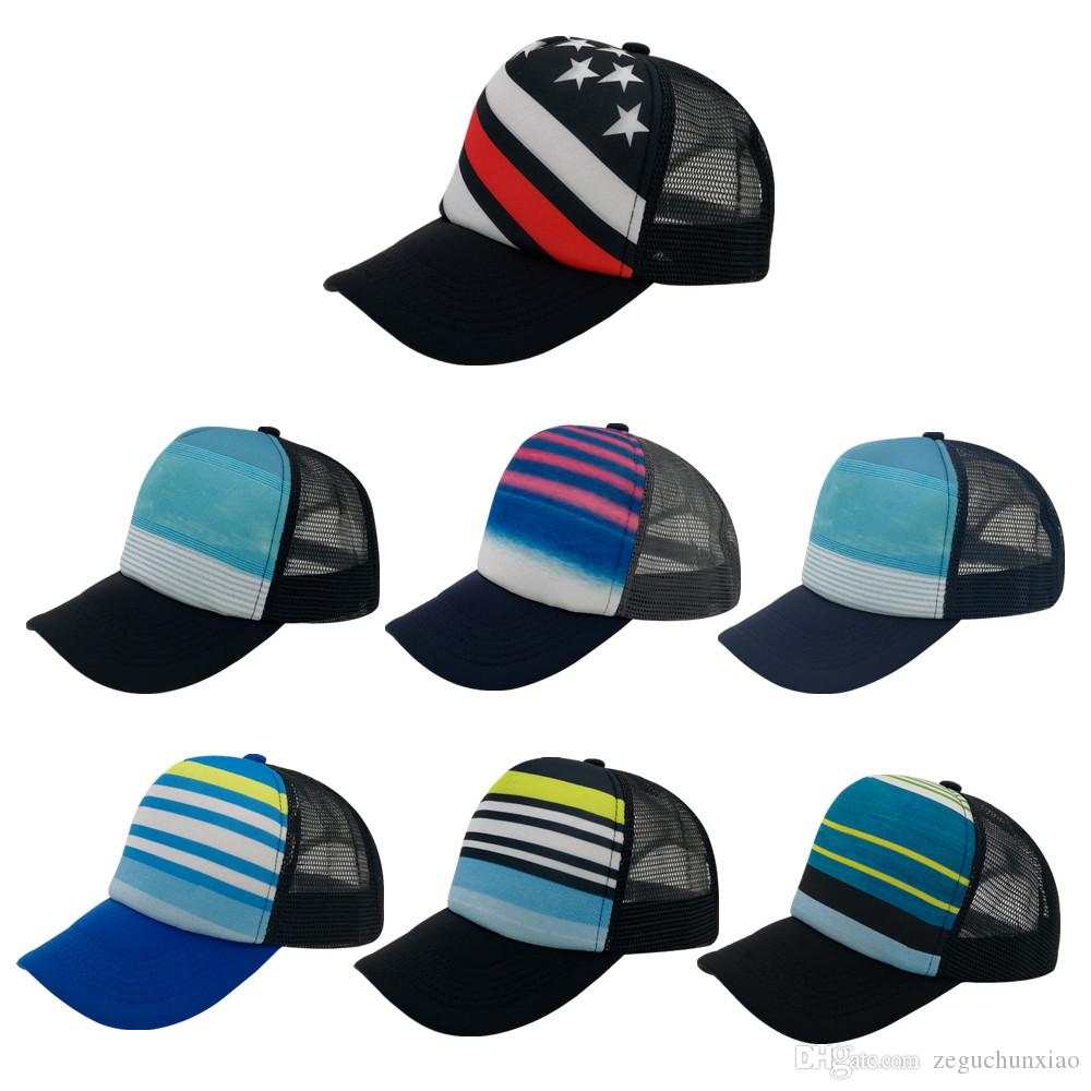 Wholesale Sublimation Pattern Fashion Trucker Mesh Hat Cheap Shade ... 081dc389dfcf