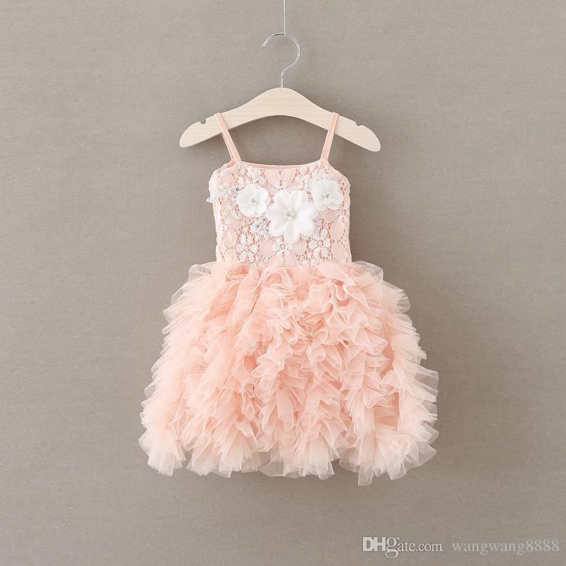 Großhandel Kleider Art Und Weise Baby Parteikleid Kinder Prinzessin ...