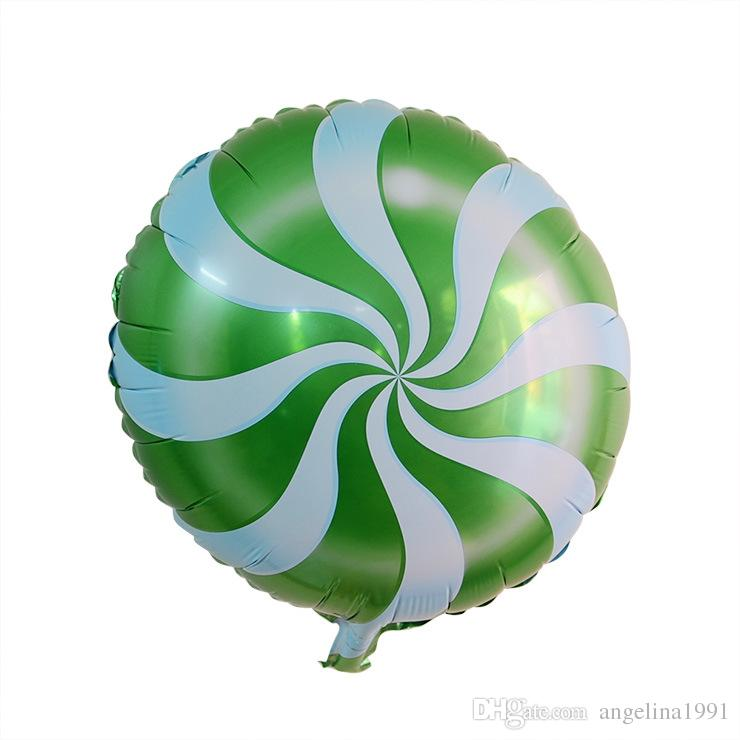 18 pulgadas decoración de la fiesta paleta Globo Globos de boda Respetuoso del medio ambiente Globos de helio biodegradables Favores de fiesta