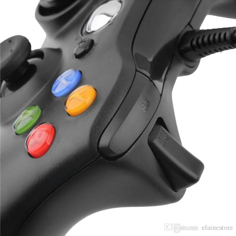 Xbox 360 Game Controller USB Wired Xbox Gamepad Joypad For Xbox Windows 7XP With Retail Package