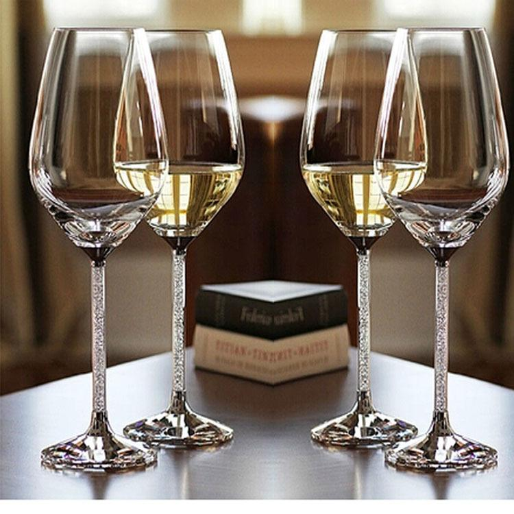 Exquisite Wine 2017 Hls001 Luxury Crystal Red Wine Glasses Exquisite And Noble .