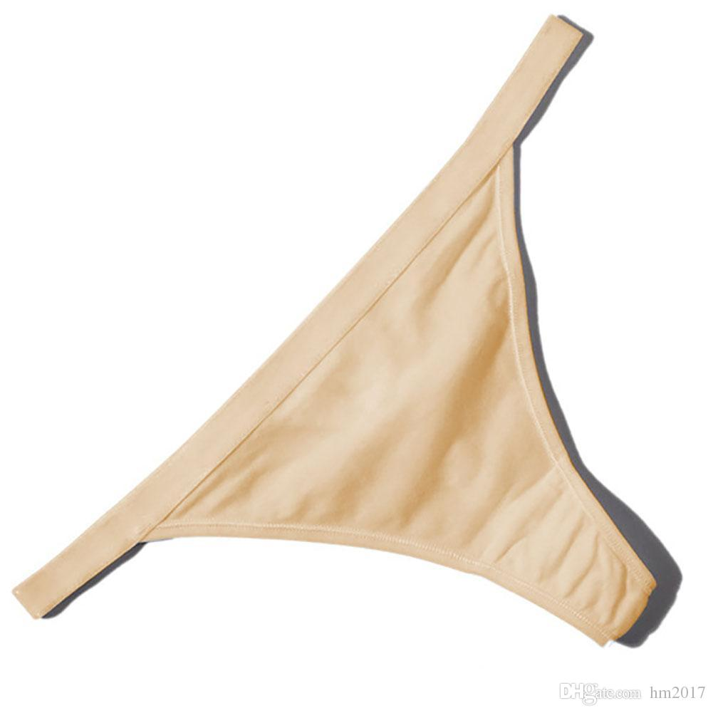 섹시한 G 문자열 끈 팬티 여성용 코튼 팬티 레이디 소녀 섹시한 낮은 허리 팬티 여성용 원활한 속옷