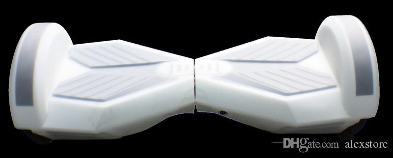 8 polegada hoverboard scooter elétrico capa protetora de silicone auto inteligente equilíbrio scooter car 2 rodas 4 cores silicone pele case capa parte