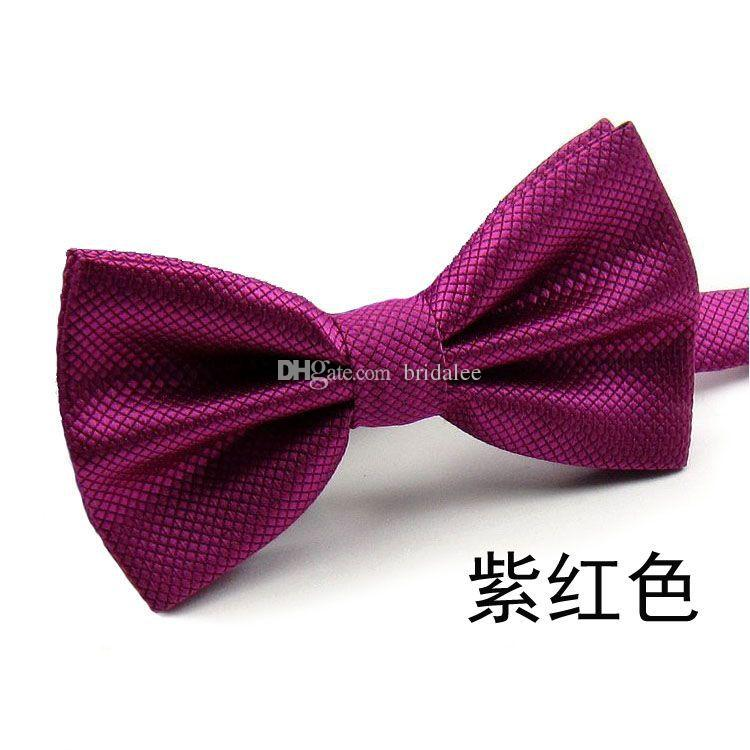 New 2017 Fashion Bow Tie Pocket Married Bow Ties Male Bow Candy Color Butterfly Ties for Men Women Mens Bowties