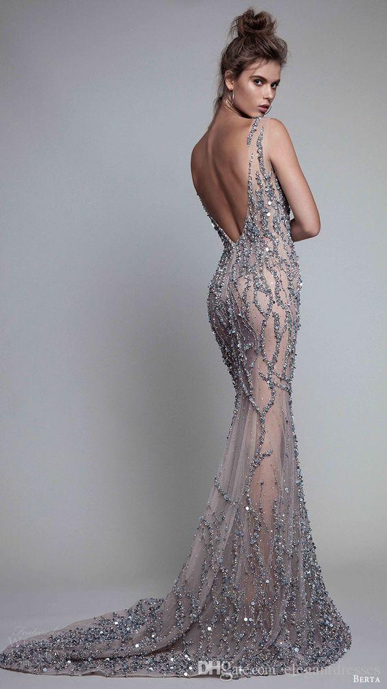 2017 elegante guaina illusione medio oriente perline progettista formale abiti da sera lunghi partito modesto
