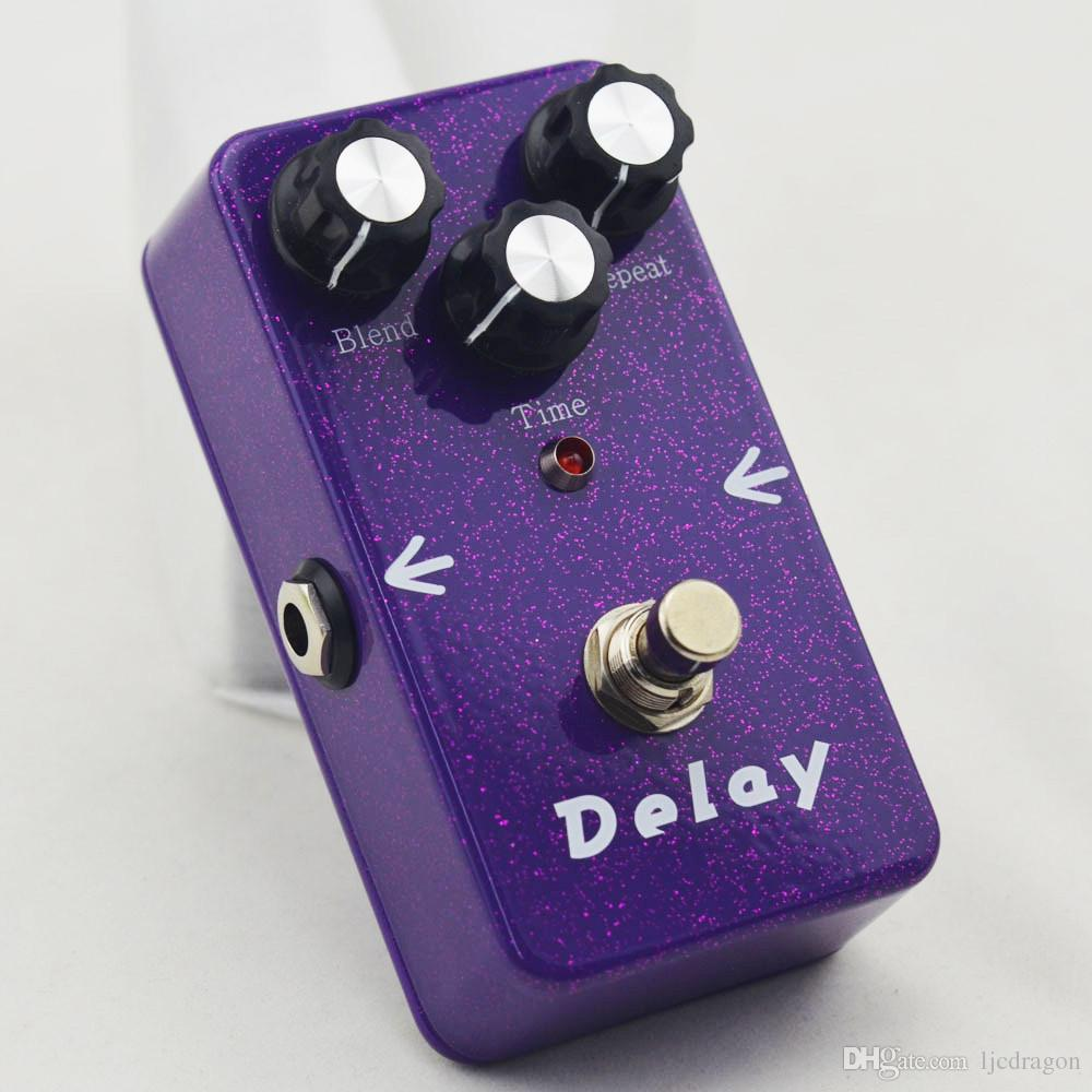 2016 NEW TT-33 Electric Guitar Audio True Bypass Analog Delay Drive Effect Pedal Purple flash Delay FREE Shipping BRAND NEW CONDITION!