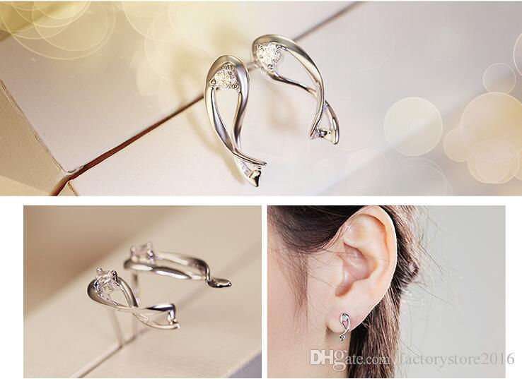 925 실버 패션 쥬얼리 귀걸이 뜨거운 유럽과 미국에서 고대 방식으로 여성을위한 조디악 스터드 귀걸이를 복원 판매