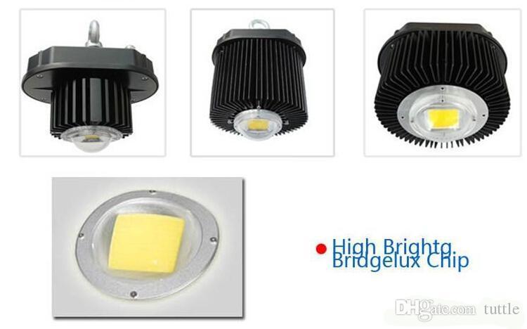 La lampe industrielle légère de la haute baie LED de 100W LED 45 degrés LED allume la haute baie allumant 10000LM pour l'entrepôt 85-265V