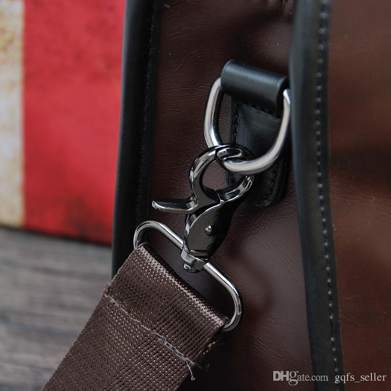 Ünlü tasarımcı marka çanta mens evrak geniune deri çanta omuz çantaları moda erkek çantası rahat açık seyahat erkekler messenger çanta
