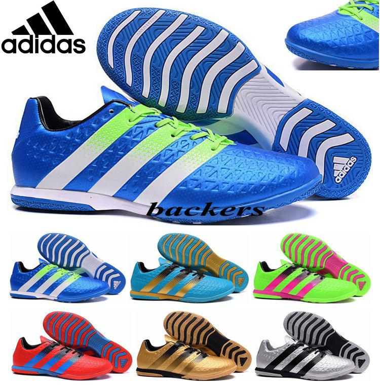 adidas indoor soccer shoes for men. 2017 2016 original adidas ace 16.3 soccer shoes football boots indoor men flat cleats cheap best quality uefa euro athletic sneakers gold silver from for